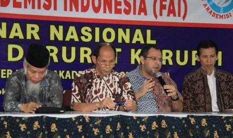 Forum Akademisi Indonesia Kupas Korupsi