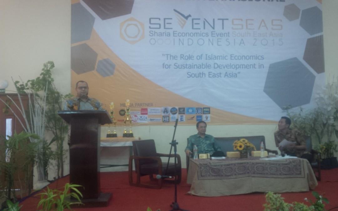 """Ketua Dewan Pembina menjadi Keynote Speaker  dalam acara """"SHARIA ECONOMICS EVENT SOUTH EAST ASIA"""""""