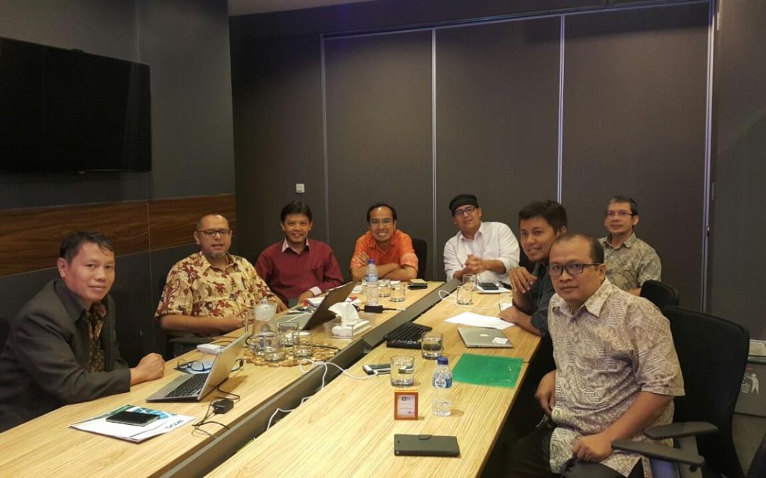 Pertemuan Chairman CISFED dengan Pengurus Pusat iKOSINDO