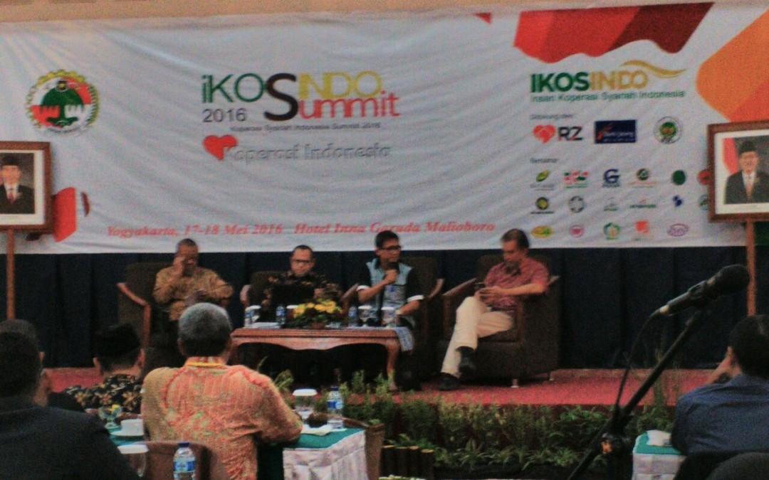 Chairman CISFED sebagai Panelis dalam Acara iKOSINDO Summit (17-18 Mei 2016)