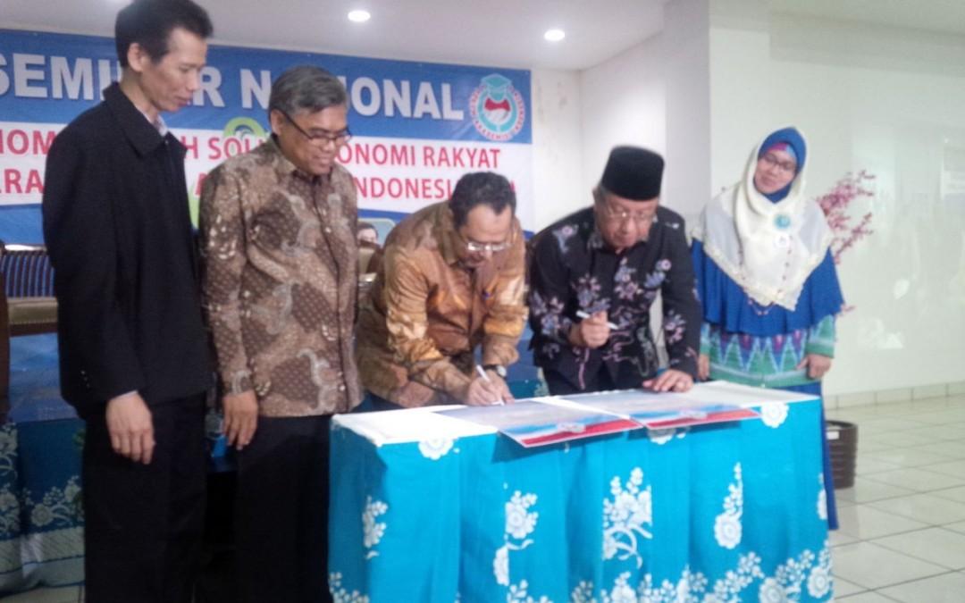 Penandatanganan Deklarasi Forum Akademisi Indonesia