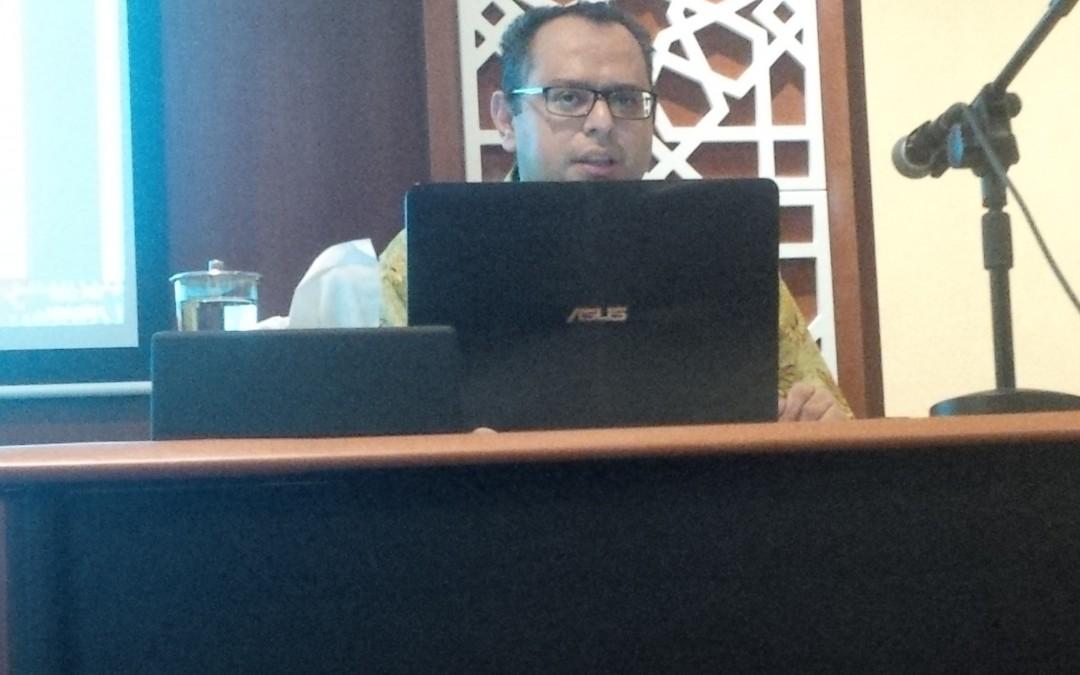 Ketua Dewan Pembina CISFED mengisi Kajian Ba'da Zuhur di Masjid Burj Al Bakrie